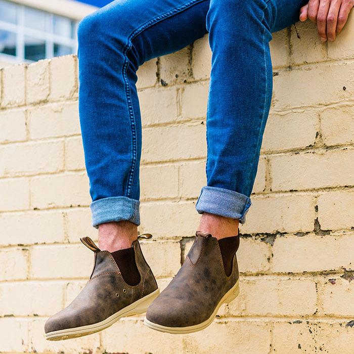 Girl walking in Blundstone Summer Boots
