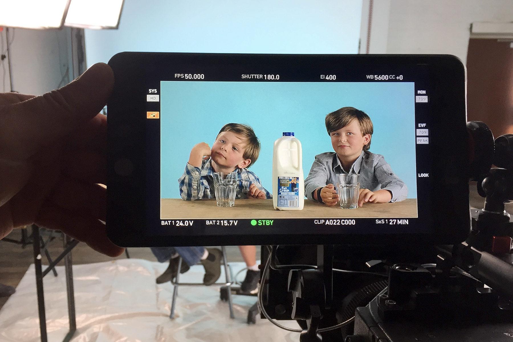 Kids on camera