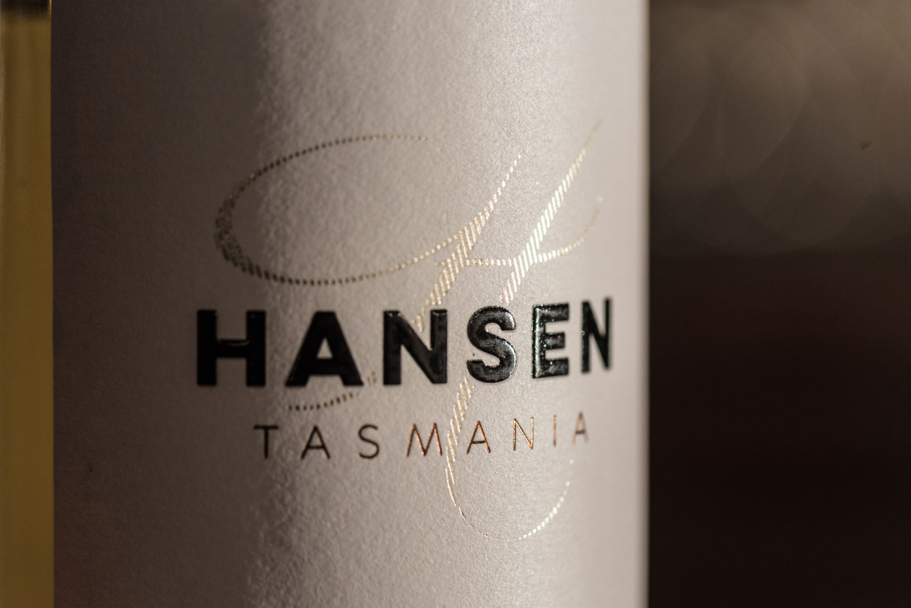 Hansen Cider Label