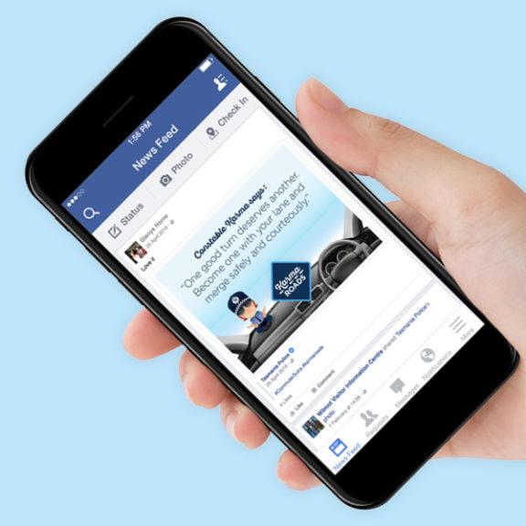 Karma Police - Phone Facebook Post
