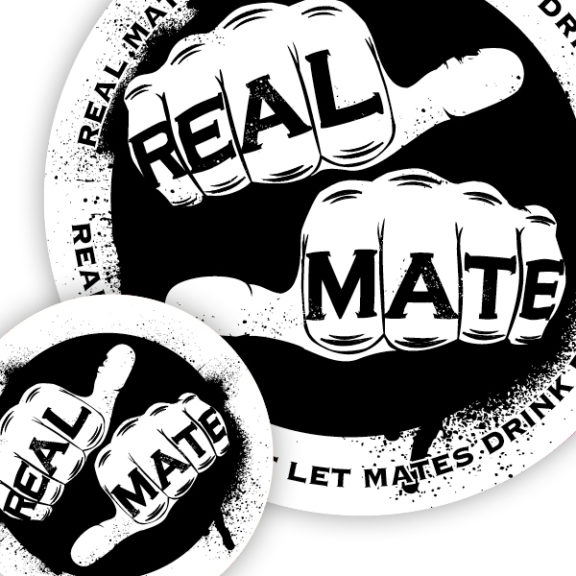Real Mates Sticker