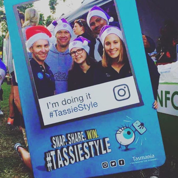 TassieStyle Instagram mockup