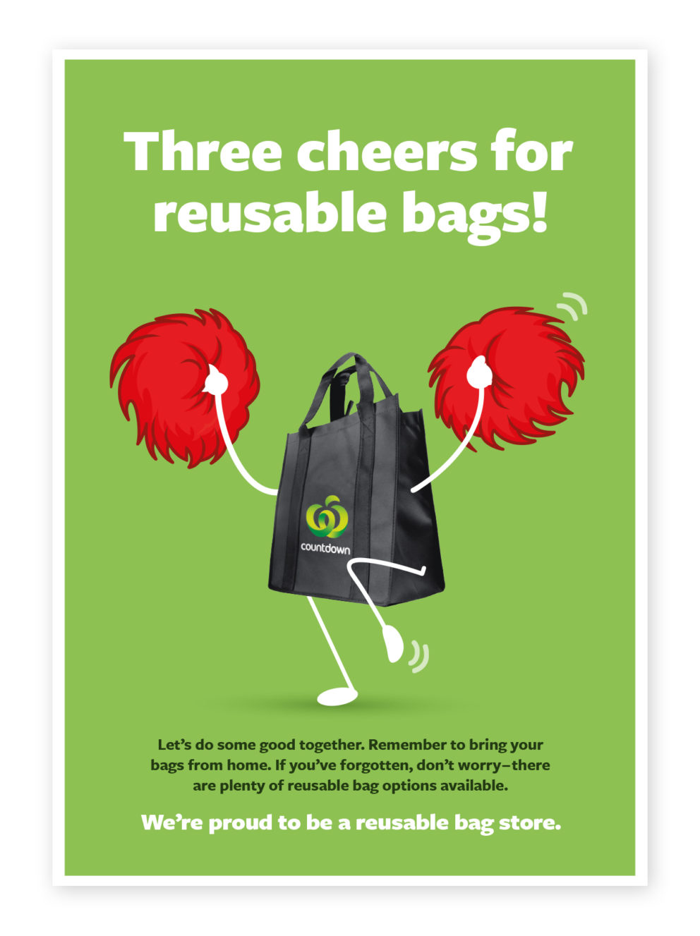 Three cheers for reusable bags - Bag for good TM