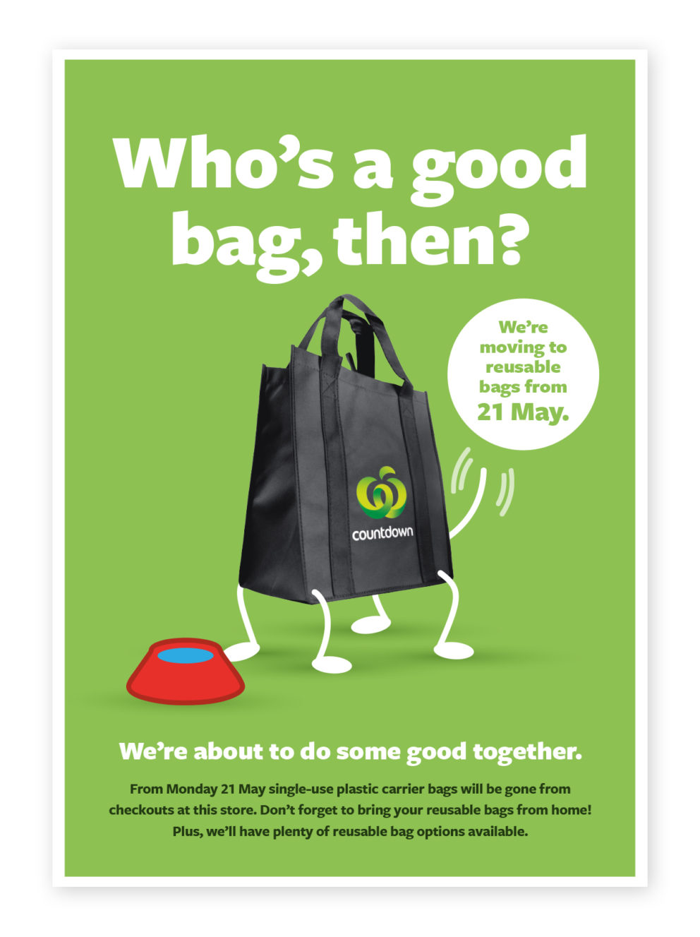 Who's a good bag then - Bag for good TM