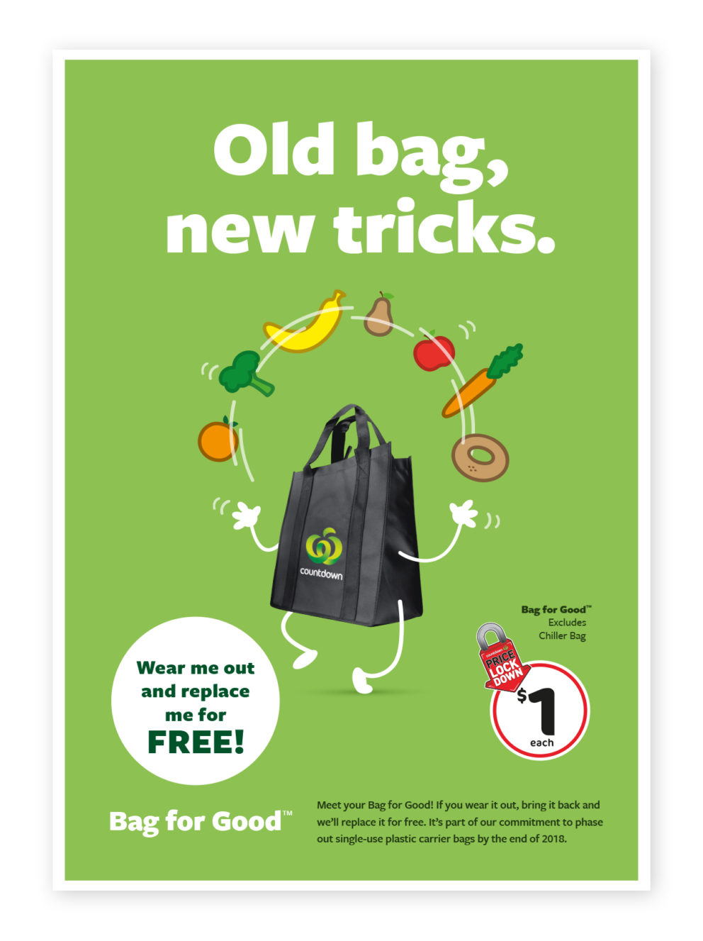 Old bag, new tricks - Bag for good TM